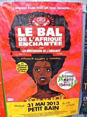 Afrocultures à l'affiche à Paris (MAI 2013)