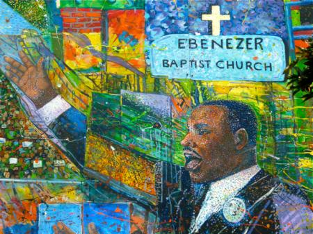 Martin Luther King était aussi pasteur baptiste
