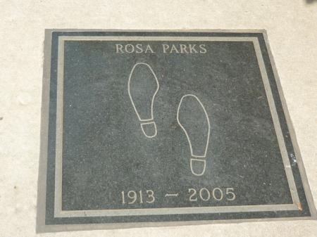 En suivant les pas de Rosa Parks