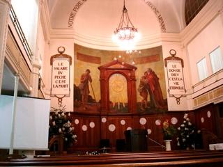 Chapelle Taitbout à Paris (DECEMBRE 2006)