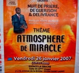 Eglises africaines à Chateau Rouge (FEVRIER 2007)
