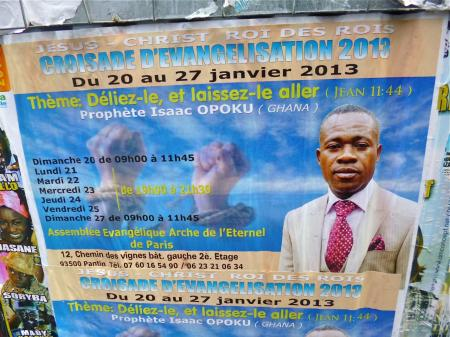 Gospel et Eglises africaines à l'affiche (JANVIER 2013)