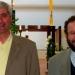 Les pères Michel Garat et Michel Kubler