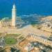 Vue aérienne mosquée Hassan II