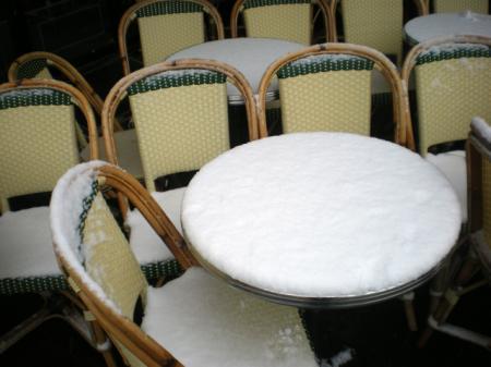 PARIS SOUS LA NEIGE (DECEMBRE 2009)
