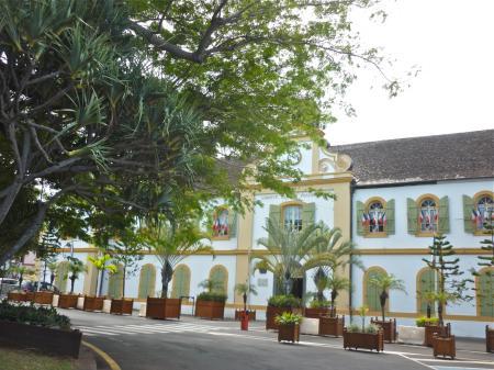 Place de l'hôtel de ville, St-Pierre de la Réunion