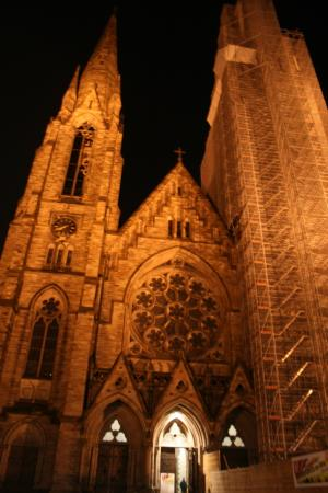 Protestantisme à STRASBOURG (NOVEMBRE 2009)