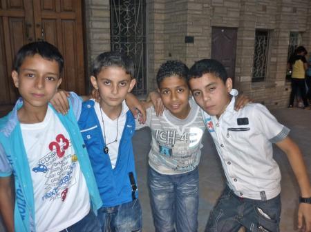 Megachurch troglodyte au Caire (JUIN 2012)