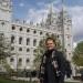 devant le grand temple des Mormons