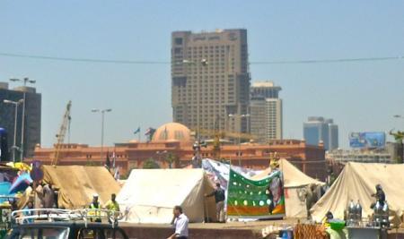 TAHRIR et Révolution égyptienne (AVRIL 2012)