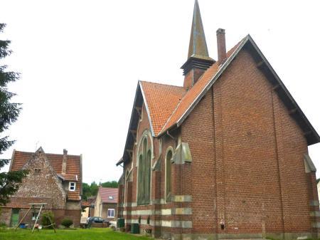 Temple réformé de Hargicourt (JUILLET 2011)