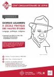 giorgio agamben, vincent delecroix, philippe portier, ephe, sciences religieuses