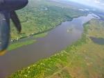 Vue aérienne du Nil Blanc, aux abords de JUBA (Soudan du Sud).jpg