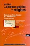 assr,pierre lassave,emile durkheim,max weber,marcel mauss,sciences sociales,sciences sociales des religions