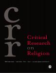 victor counted,afrique,diaspora,religion,nouveaux christianismes en afrique,critical research on religion