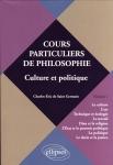 Charles-Eric de Saint Germain, cours particuliers de philosophie, éditions Ellipses, philosophie, culture et politique, multiculturalisme,