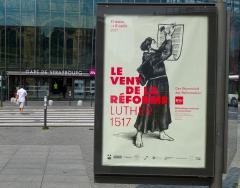 protestantisme,strasbourg,alsace,luther 2017,madeleine zeller,bnu,bibliothèque nationale universitaire,exposition,luthéranisme,500 ans de la réforme,livre