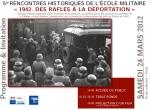 paris,rafle,henri rousso,seconde guerre mondiale,juifs,déportation,école militaire