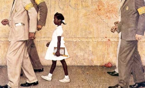 Norman Rockwell, the Problem we all live with.jpg